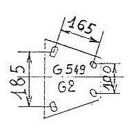 ATTACHE GOETT 549G2 2000  V SIMPLEX