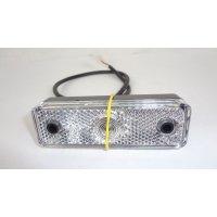 FEU AVANT BLANC RADEX avec réflecteur 95 x 30