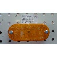 FEU ORANGE A LED  OBLONG  L=110mm  24V  JOKON