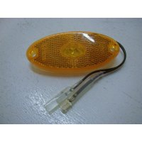 FEU ORANGE A LED  OVAL    100X44   24V  JOKON