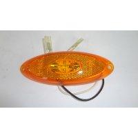 FEU ORANGE A LED  OVAL    120X45   12V  JOKON