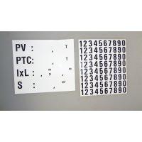 PLAQUE PV/PTC DE TARE GM ADH 160X140