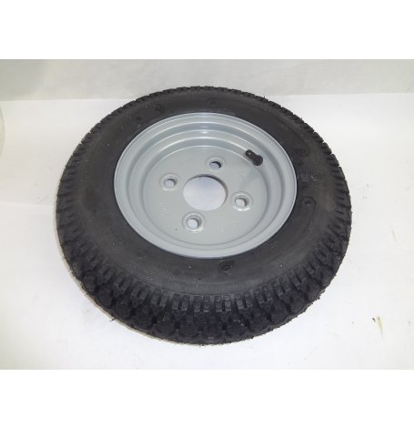 ROUE MONTEE 350X8 100X4 SH CHARGE MAXI 170 KG