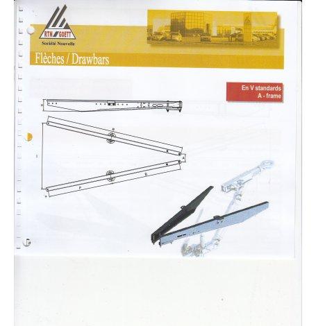 TIMON/PAIRE FLECHE 2000KG GOETT L=1800mm