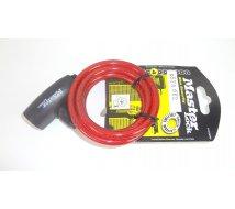 ANTIVOL CABLE 8 mm - 1,80 m