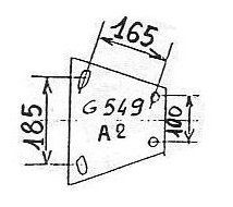 ATTACHE GOETT 549B2 1400 V RA