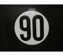 DISQUE LIMITATION VITESSE  90KM/H ADHESIF