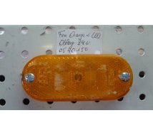 FEU ORANGE A LED  OBLONG  L=110mm  24V  JOKON