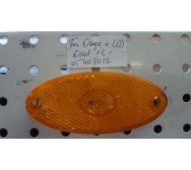 FEU ORANGE A LED  OVAL    100X44   12V  JOKON
