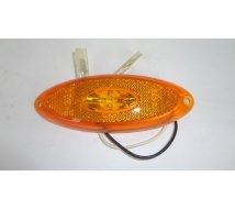 FEU ORANGE A LED  OVAL    120X45   12V  JOKON   type 2012