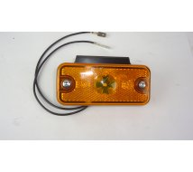 FEU ORANGE A LED SIP 103x47 - ép 18 sur patte équerre