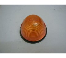 FEU ORANGE   ROND   OBUS   D=76mm