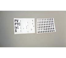 PLAQUE PV/PTC DE TARE PM ADH 120X90