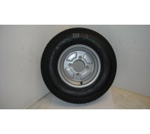 ROUE MONTEE 500 X10 115X4 pneu KINGS  SH