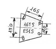 ATTACHE ALKO 161S RA LEVIER SIMPLE   950 A 1600KG