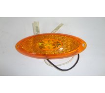 FEU ORANGE A LED  OVAL    120X45   12V  JOKON